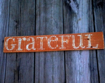 Grateful - Burnt Orange/Tan