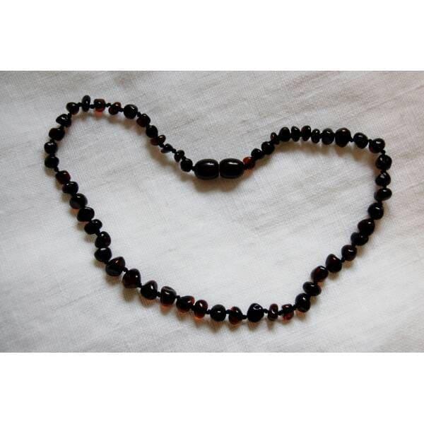 black necklace teething necklace kid child