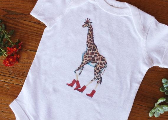 Giraffe Baby Romper Onesie®