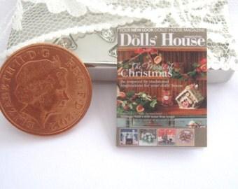 dollhouse magazine  christmas  12th scale miniature