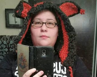 Bunny ear hoodie