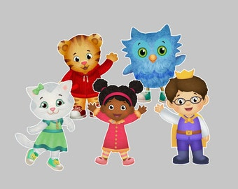 Please Read Description ++++ Daniel Tiger and Friends DIGITAL Download