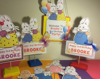 Max and Ruby Centerpieces qty 1