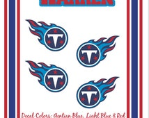 Tennessee Titans Vinyl Auto Stripes