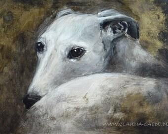 Sighthound original painting