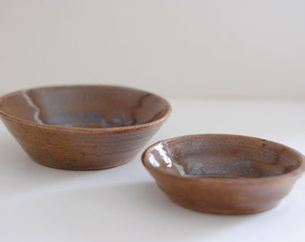 Small Vintage Studio Pottery Dishes