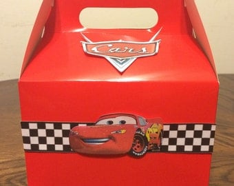 Cars party favor box