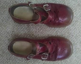 Vintage girls shoes