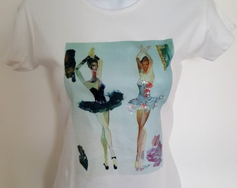 Art Colage T-shirt