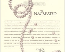 1965 Vintage Star of Siam Nacreated Pearls Ad // Advertisement for Nacreated Star of Siam Jewelry // Retro Pearls Ads // Old Pearl Necklace