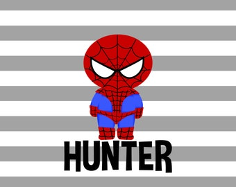 Personalized Placemat - Spiderman Placemat 12x18