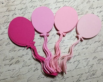 Die Cut Balloons. 4 inches.  #B-22