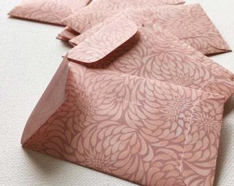 Handmade Envelopes, Baby Envelopes, Blush Wedding, Floral, Placecards, Romantic