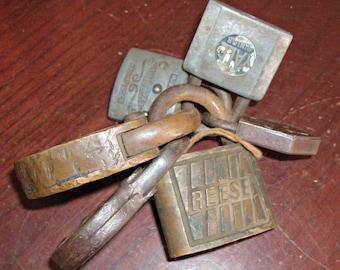 Vintage Padlocks