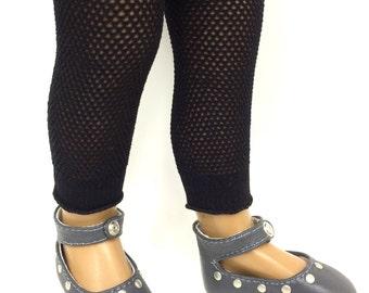"Footless fishnet black tights for 16"" Sasha Doll"