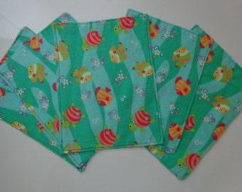 Cloth Napkins, Handmade Napkins, Reusuable Napkins