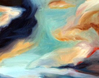 The Sky on the Way Home- Fine Art Giclée Print