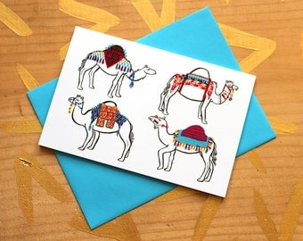 Camel Couture Card