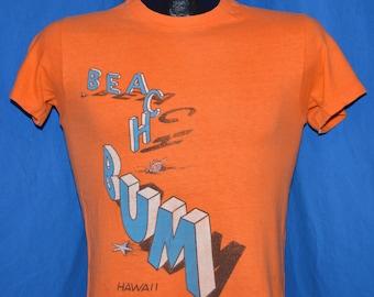 70s Hawaii Beach Bums t-shirt Small