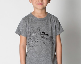 Force Veggies Not Vaccines Tee, Infant & Toddler