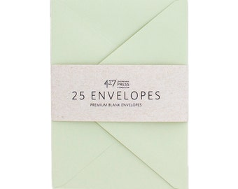 Envelopes - 4Bar Sage Green