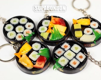 1 PCS / Recoden / PVC / Cute / Bento / Sushi / Fake Food / Miniature / Dollhouse / 4.5cm / CN907