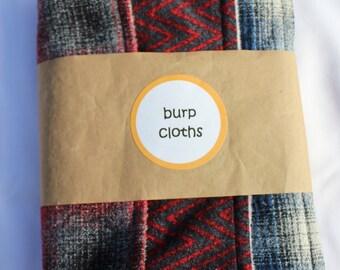 Super Soft Burp Cloths for Men Item #1617
