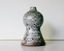 Vintage Gramann Römhild Studio ceramic vase, East Germany EGP