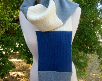 End of season sale. 20% off everything in the store Cashmere scarf, cashmere neck wrap . Repurposed cashmere sweater scarf, neckwrap