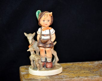 1950's, Little Goat Herder, Hummel Figurine, We have more Hummels, please look, Goebel, Priced up to 300.00 Great Gift Idea, #728