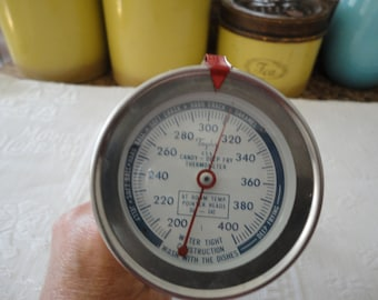 Vintage Taylor Candy Turkey Deep Fry Thermometer Cooking Probe Model NO. 5911 Original Packaging