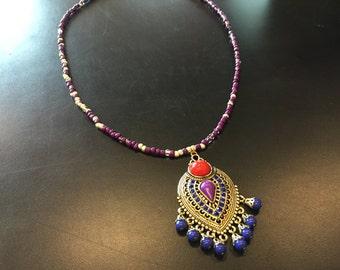Catherine de' Medici inspired necklace
