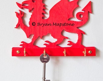 Welsh Dragon Key hooks