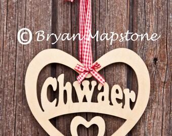 Chwaer (Sister) heart