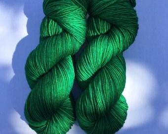 Hand Dyed Superwash Merino DK Yarn  250 yards 115 grams