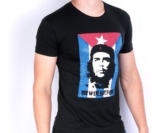 Re Rock 4ever Mens L Shirt Black Summer Revolucion