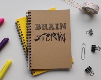 Brain Storm - 5 x 7 journal
