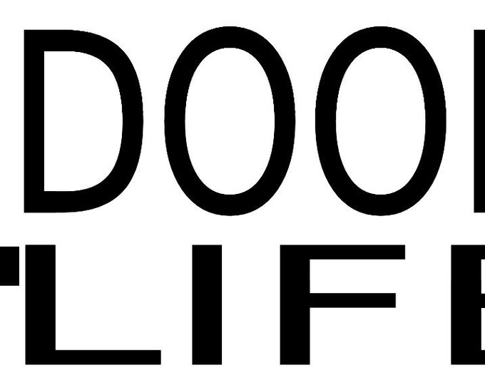 4 Door 4 Life Vinyl Decal