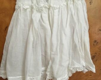 Rockabilly Baby Girls Cotton Skirt Crinoline Slip Vintage size 3