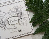 Personalised Hand Drawn Venue Sketch Wedding Invitations - Perfect Place