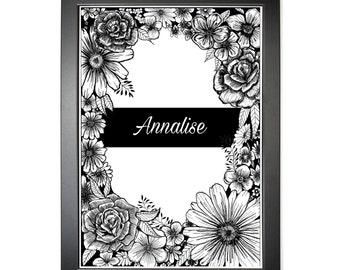 Annalise Lily Print