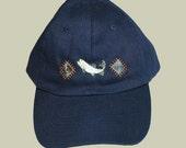 Navy Fishing Cap. Salmon ...