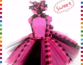 Back to School Tutu Perfect for:  pageant wear, outfit of choice, birthday, photo shoot, special occasion