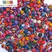 50 TEXTILE BEADS from Peru 17 mm to make Peruvian bracelets, necklaces