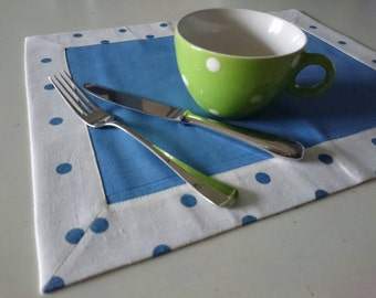 Set of 2 placemats, ca. 36x46cm