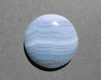 Blue Lace Agate Cabochon  (29X7)
