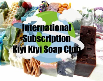Soap Of the Month Club 6 Months International Subscription Box Gift