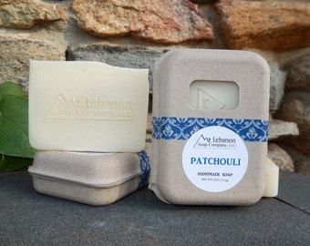 Patchouli Soap - Handmade Soap - 5oz bar - Gift For Her - Earthy Fragrance - Patchouli - Cold Process Soap - Vegan Soap -