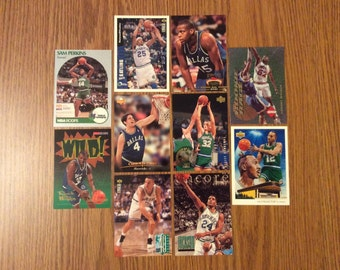 50 Dallas Mavericks Basketball Cards