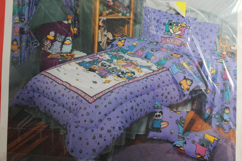 Twin Bed Sheet Set Character Sheet Vintage Bed Sheets Kids